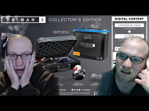 The Hitman 2 Collector S Edition Gamestop Exclusive Is A Ripoff