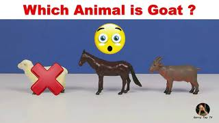Learn Zoo Wild Animals Puzzle Learning For Children/Learn Farm Animals /Names & Sounds