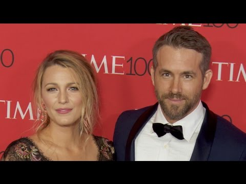 Ryan Reynolds & Blake Lively at the Time 100 Gala 2017