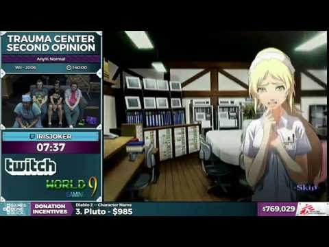 Trauma Center Second Opinion by Irisjoker in 1:30:56 - SGDQ 2016 - Part 162