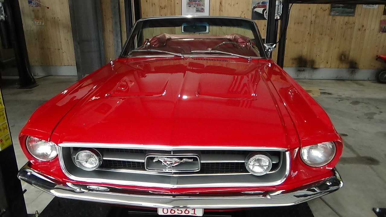 1967 Ford Mustang GT Cabrio - Exterior and Interior - NR Classic Car Rudersberg 2020