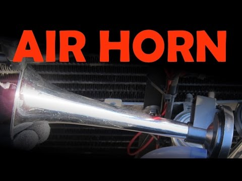 Air Horn Installation