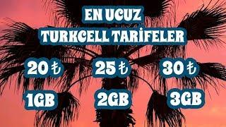 Turkcell'in En İyi 3 Tarifesi 2019 Güncellendi (20₺ 25₺ 30₺ Bol Bol GB)  #12
