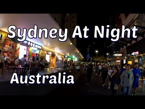Sydney At Night - Sydney Chinatown - Australia