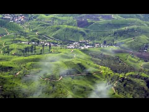 Cessna 208 Amphibian over green terrain of Central Sri Lanka