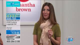 HSN | Samantha Brown Travel Celebration 07.21.2017 - 06 AM