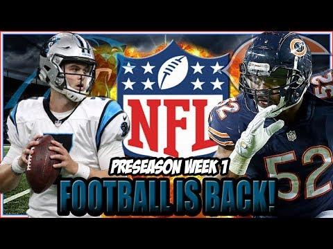 Carolina Panthers Vs Chicago Bears Preseason Week 1 Preview   Shellitronnn