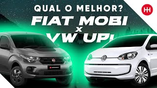 Fiat Mobi x Volkswagen up! - Comparativo Webmotors #1