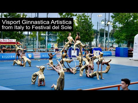 Visport Ginnastica Artistica from Italy to Festival del Sole, Street Gymnastics