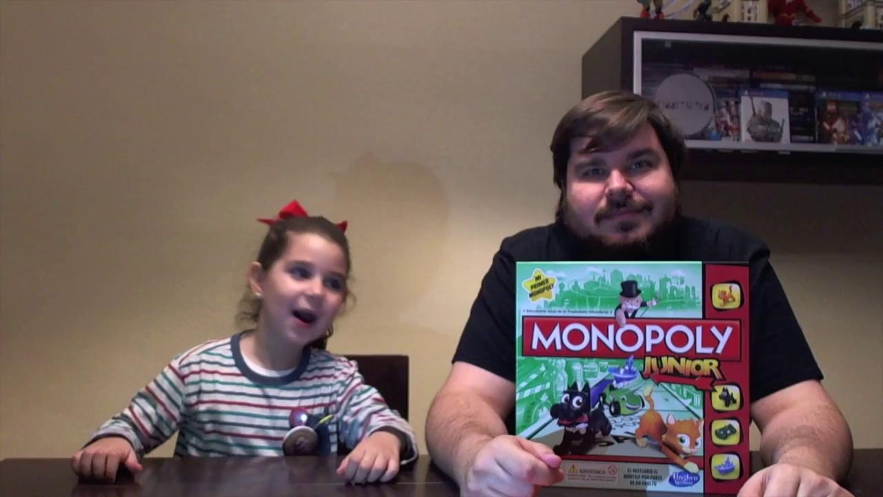 Monopoly Junior Juegos De Mesa Infantiles