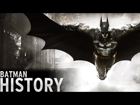 History of - Batman Video Games (1986-2016)