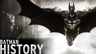 History of - Batman Video Games (1986-2016)