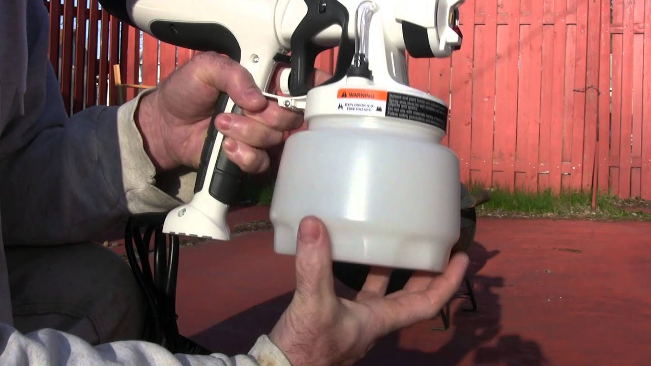 Wagner Paint Ready Sprayer Youtube