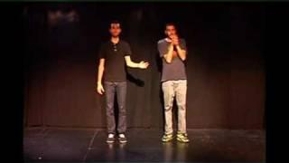 FlashMob de percussions corporelles - Avignon, 17 Juillet 2011, 19h