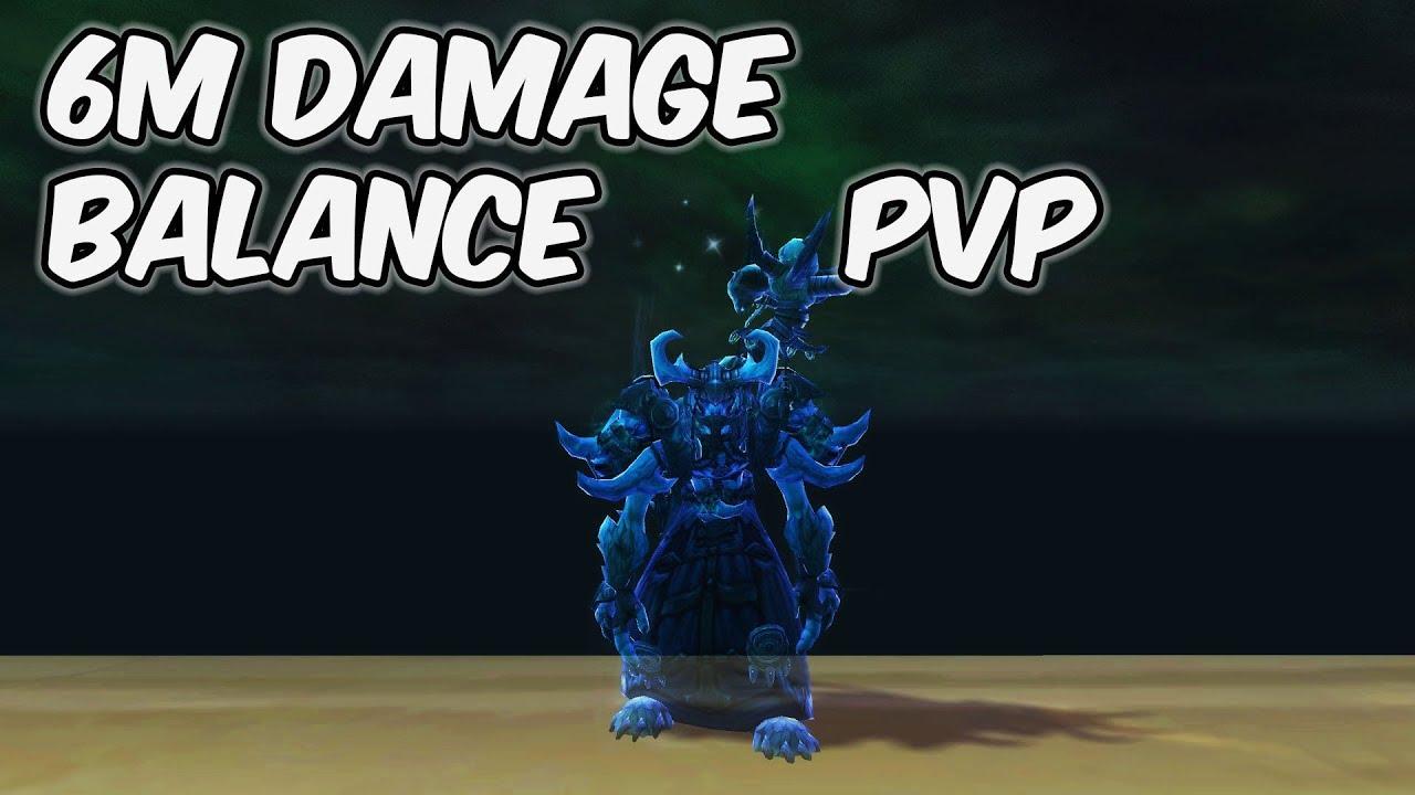 6M DAMAGE - 8 0 1 Balance Druid PvP - WoW BFA - Para