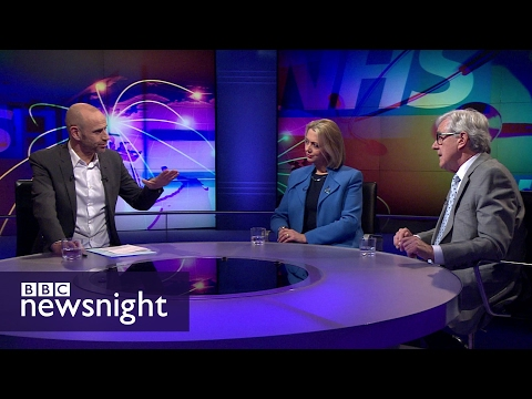 How should the NHS deal with 'health tourism'? - BBC Newsnight