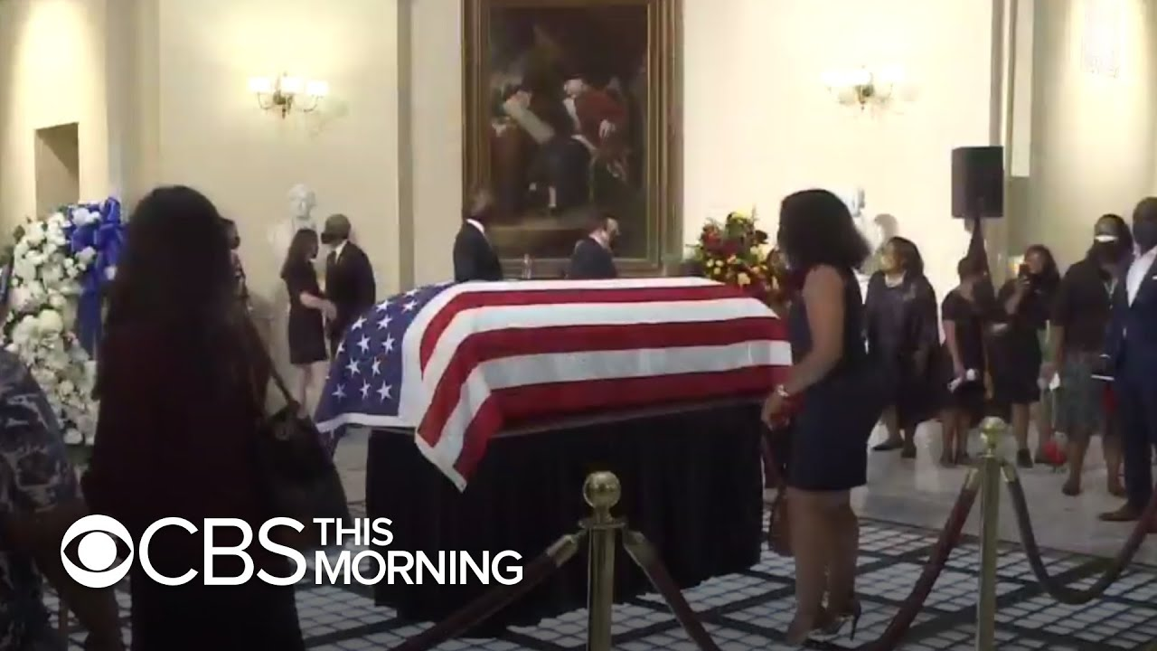 John Lewis Funeral: Civil Rights Icon Being Laid to Rest in Atlanta