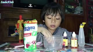 CARA CEPAT MEMBUAT SLIME DENGAN MUDAH DAN SIMPLE | Zada Kids