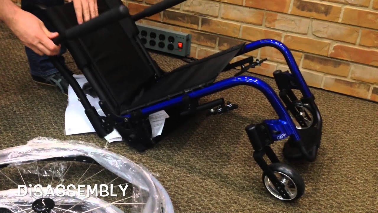 wheelchair manual graco folding high chair quickie eir5 qri adult rigid - youtube