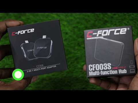 Best Multi Port Adopters Unboxing Based On Type-C,C- Force Multi Port Adopters || In Telugu ||