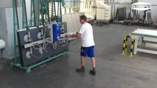 Vacuum Lifting Device - Handling Of Metal Sheets | Schmalz