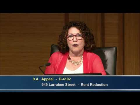 Rent Stabilization Commission Meeting - Jul 28, 2016