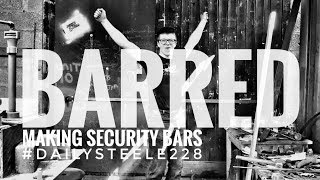 BARRED - Had to make security bars for the shop doors! thumbnail