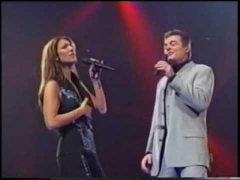 CELINE DION POR AMOR  When I Fall In Love Duet with Daniel Lavoie Millennium Concert