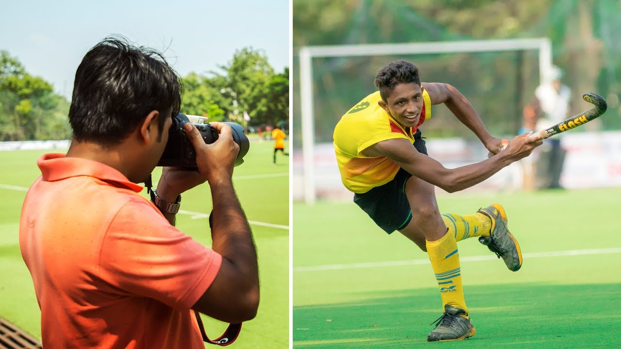 Sports Photography Technique: Hockey Sports Photography Tips In Hindi Tutorial
