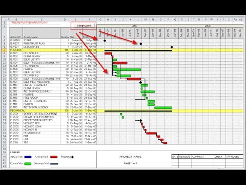 Create an Excel Gantt utilizing VBA Visual Basic Applications