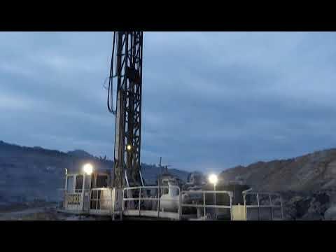 Drilling machine coal mine