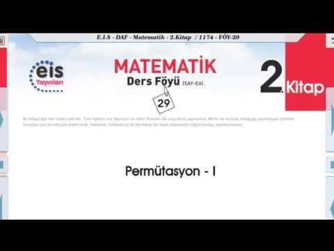 Matematik 2 - Permütasyon 2 📏