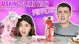 PUPPET SLIME | MAKING SLIME AS PUPPETS | Slimeatory #60