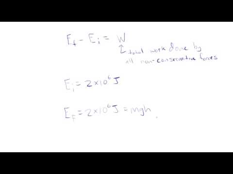Gravitational PE and Energy Conservation: Algebra Physics.mp4