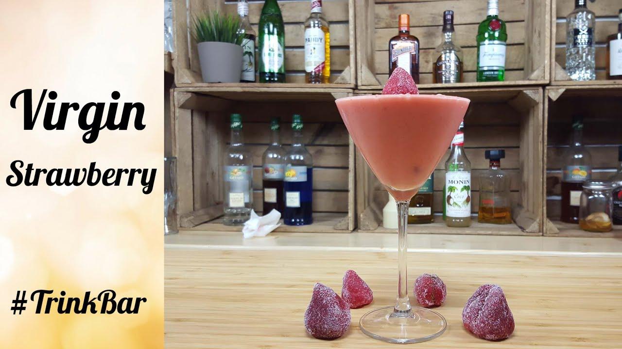 Astounding Strawberry Daiquiri Rezept Das Beste Von Virgin - Alkoholfreier Cocktail - - Trinkbar