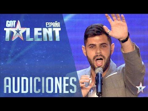 Una nana para Jesús Vázquez | Audiciones 2 | Got Talent España 2016