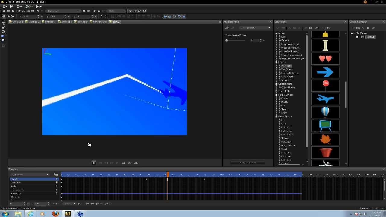 Tutorial: Visual Effects Magic with Corel MotionStudio 3D