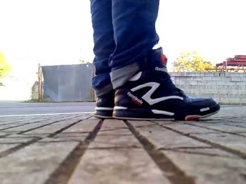 Reebok Pum Omni Lite Dee Brown OG colorway on feet! - YouTube a41dd35cc
