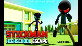Stickman Highschool Escape Android Gameplay