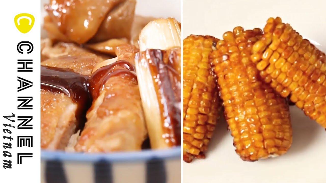 Cơm thịt gà sốt cay ngọt không làm bạn thất vọng🍗