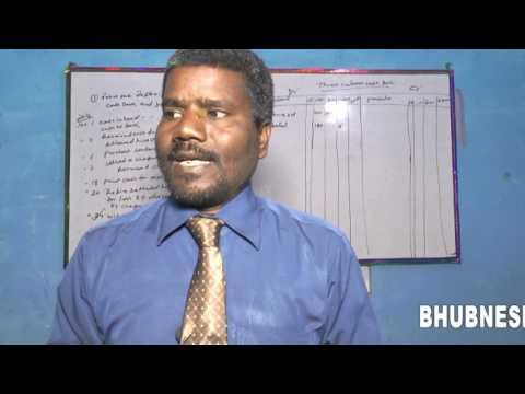 "three column cash book in hindi By Bhubneshwar mahto """"practical problem"""""