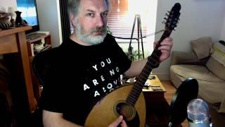 Hardiman The Fiddler (slip jig) on bouzouki