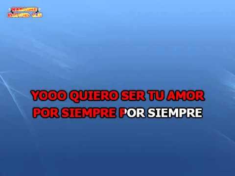 Axel Fernando - Tu Amor Por Siempre Karaoke