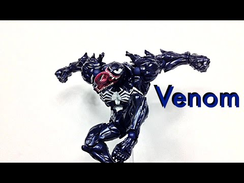 figure complex AMAZING YAMAGUCHI VENOM Revoltech Action Figure w// Tracking NEW
