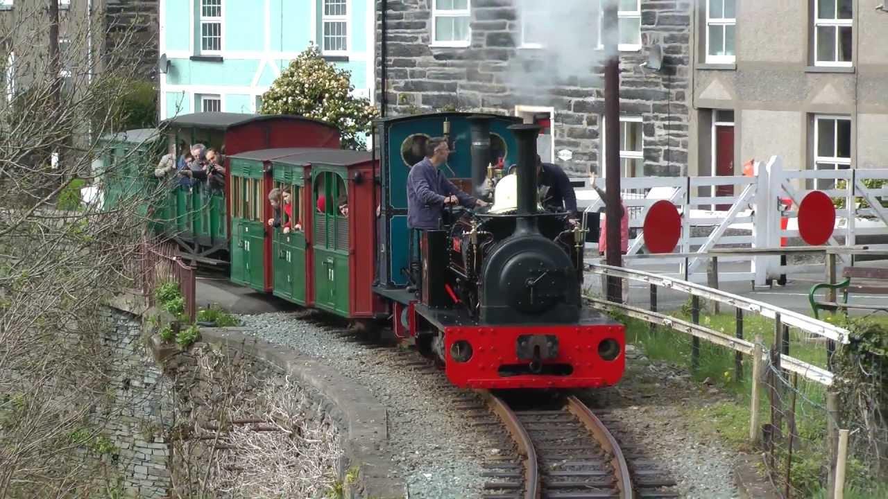Ffestiniog Railway 5th-6th May 2013 - YouTube