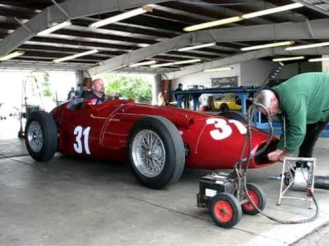 Starting A Vintage Maserati Race Car Youtube