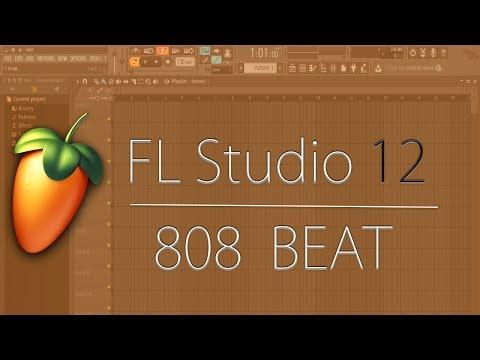 FL Studio 12 Simple 808 Beat  Creating  Exporting To Mp3