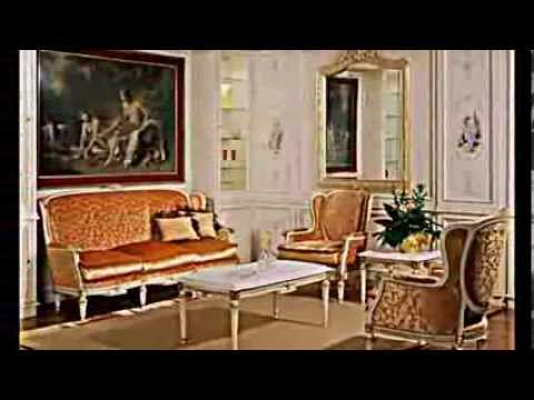 k nigliche wohn und schlafzimmer m bel von meroni youtube. Black Bedroom Furniture Sets. Home Design Ideas