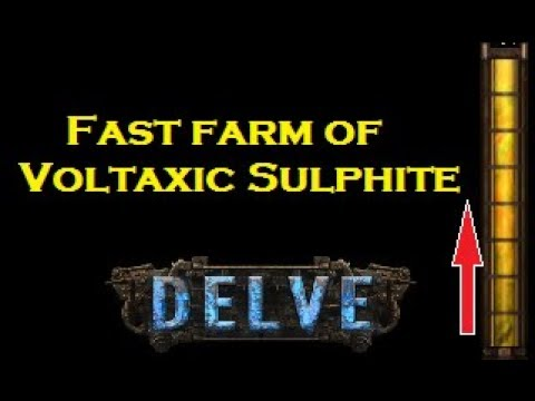 Fastest Way to Farm Voltaxic Sulphite (NO LONGER VIABLE!) [Path of Exile]