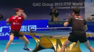 2015 Grand Finals MS-R16 Ma Long - Marcos Freitas (full match|short form in HD)